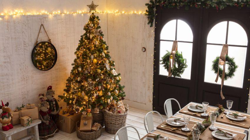 Decoración navideña de estilo natural - Hogarmania
