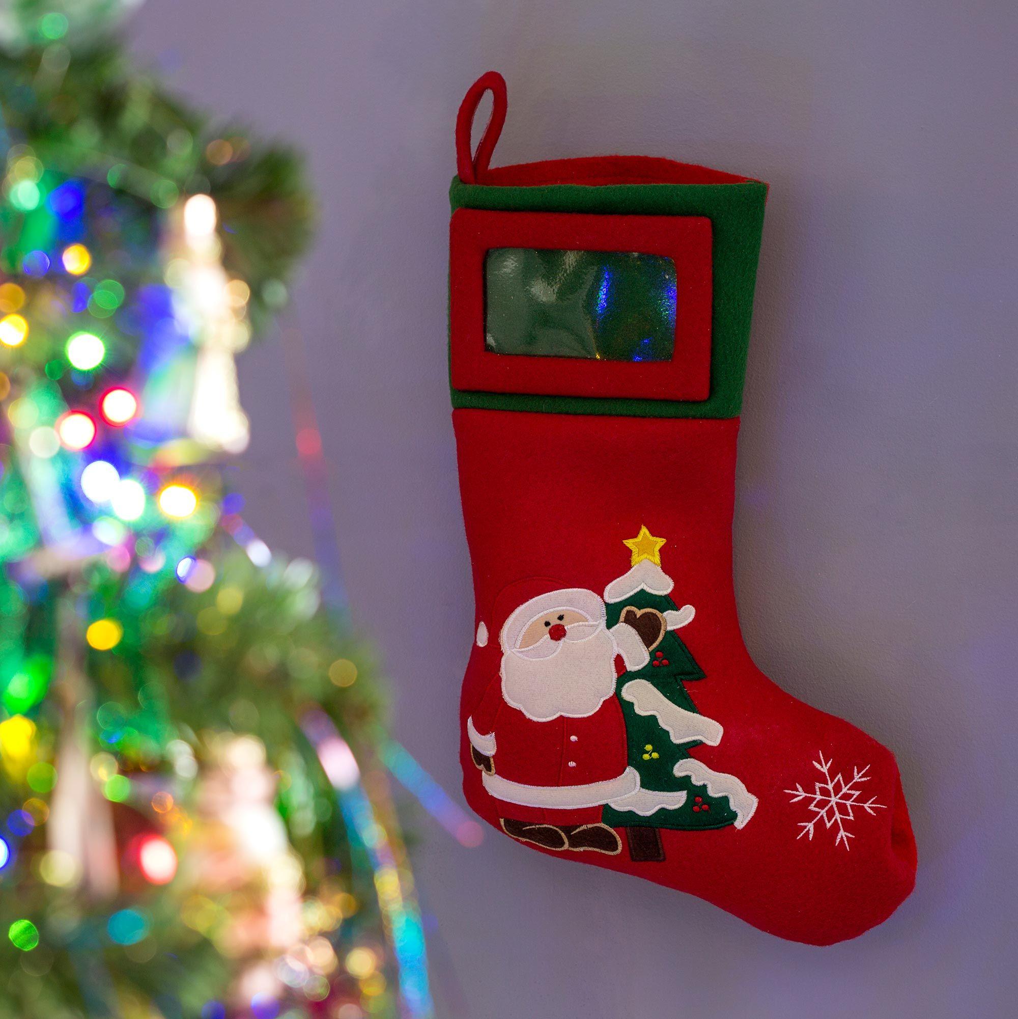 Decoraci n navide a divertida y llena de color hogarmania - Decoracion navidena fieltro ...