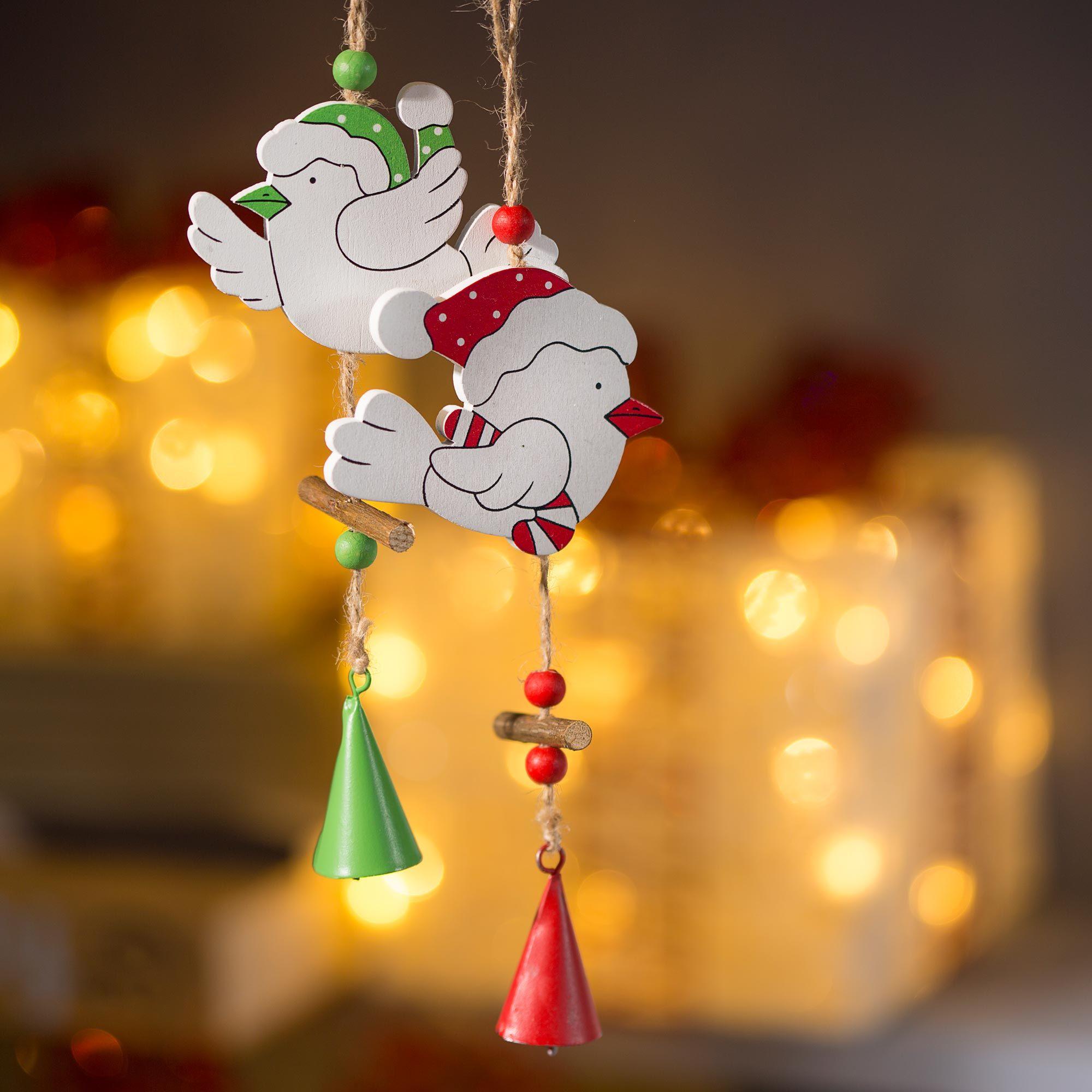 Decoración navideña divertida y llena de color
