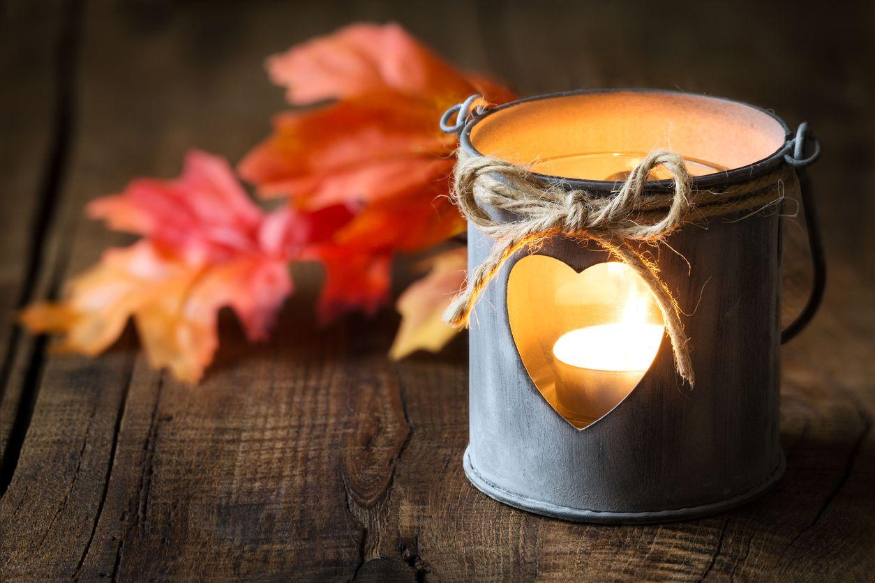 Cómo utilizar las velas en casa en otoño-invierno