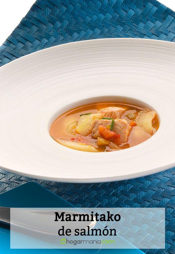 Receta de Marmitako de salmón