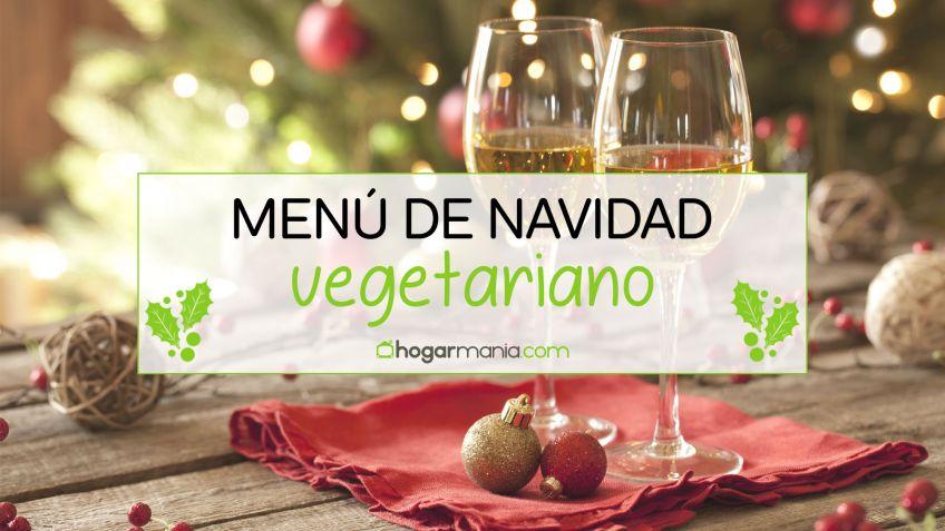 Menú de Navidad vegetariano - Hogarmania