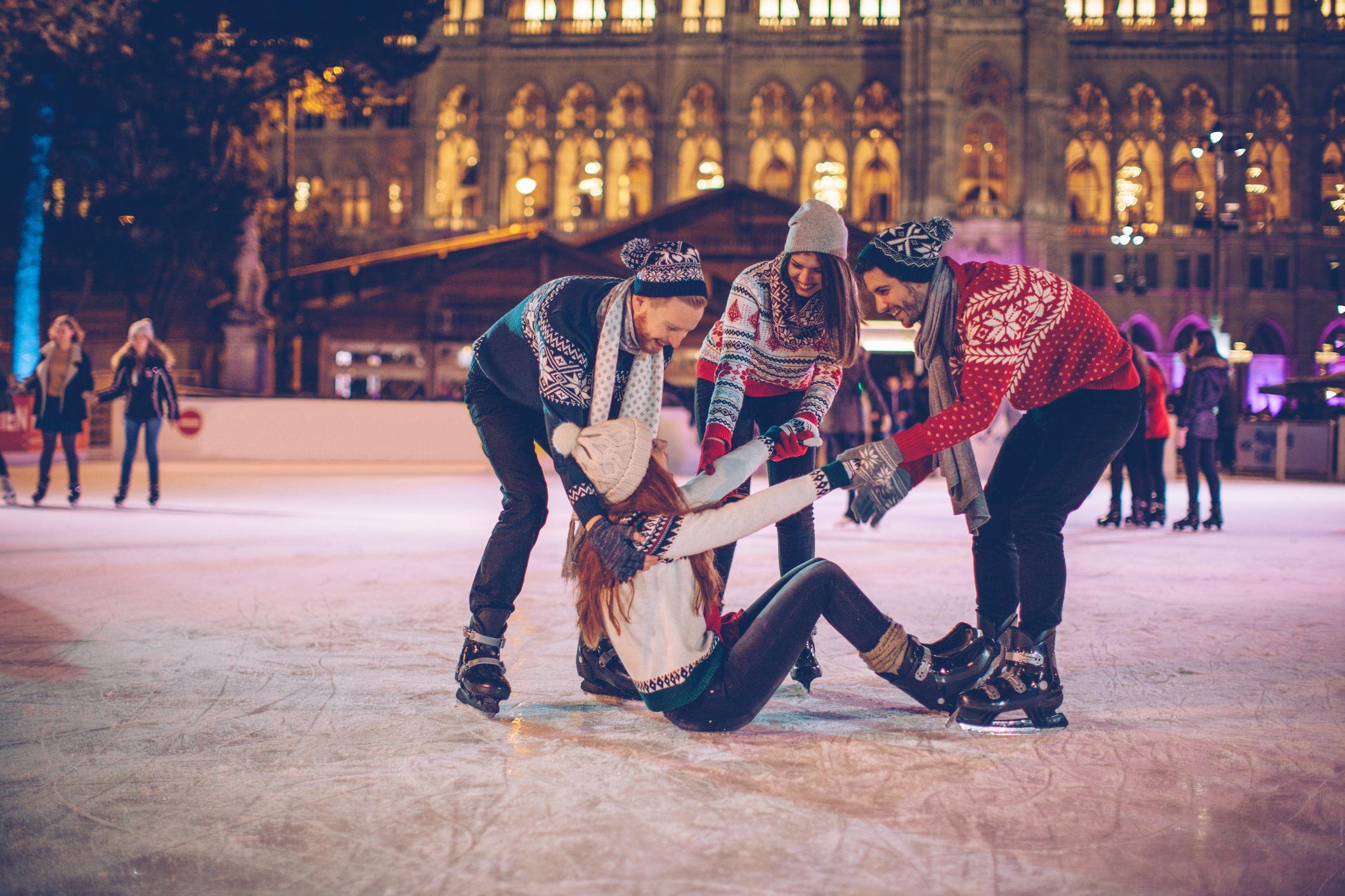 Ir a patinar sobre hielo