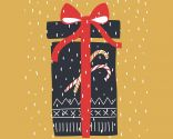 Postales y tarjetas navideñas modelo 2