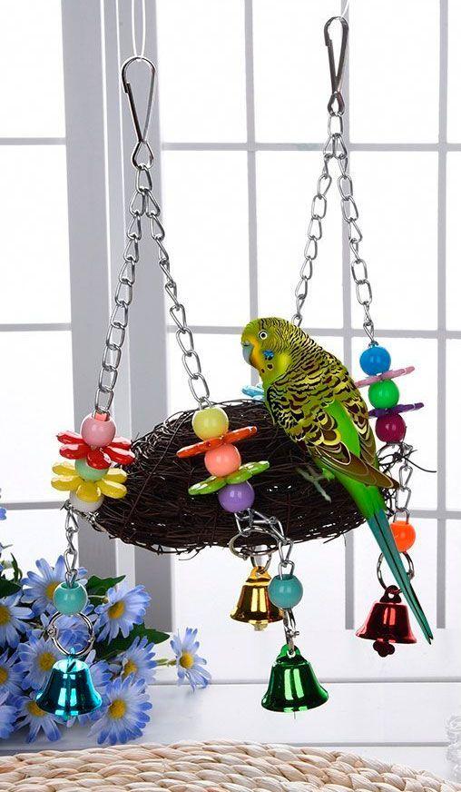 columpio pájaros