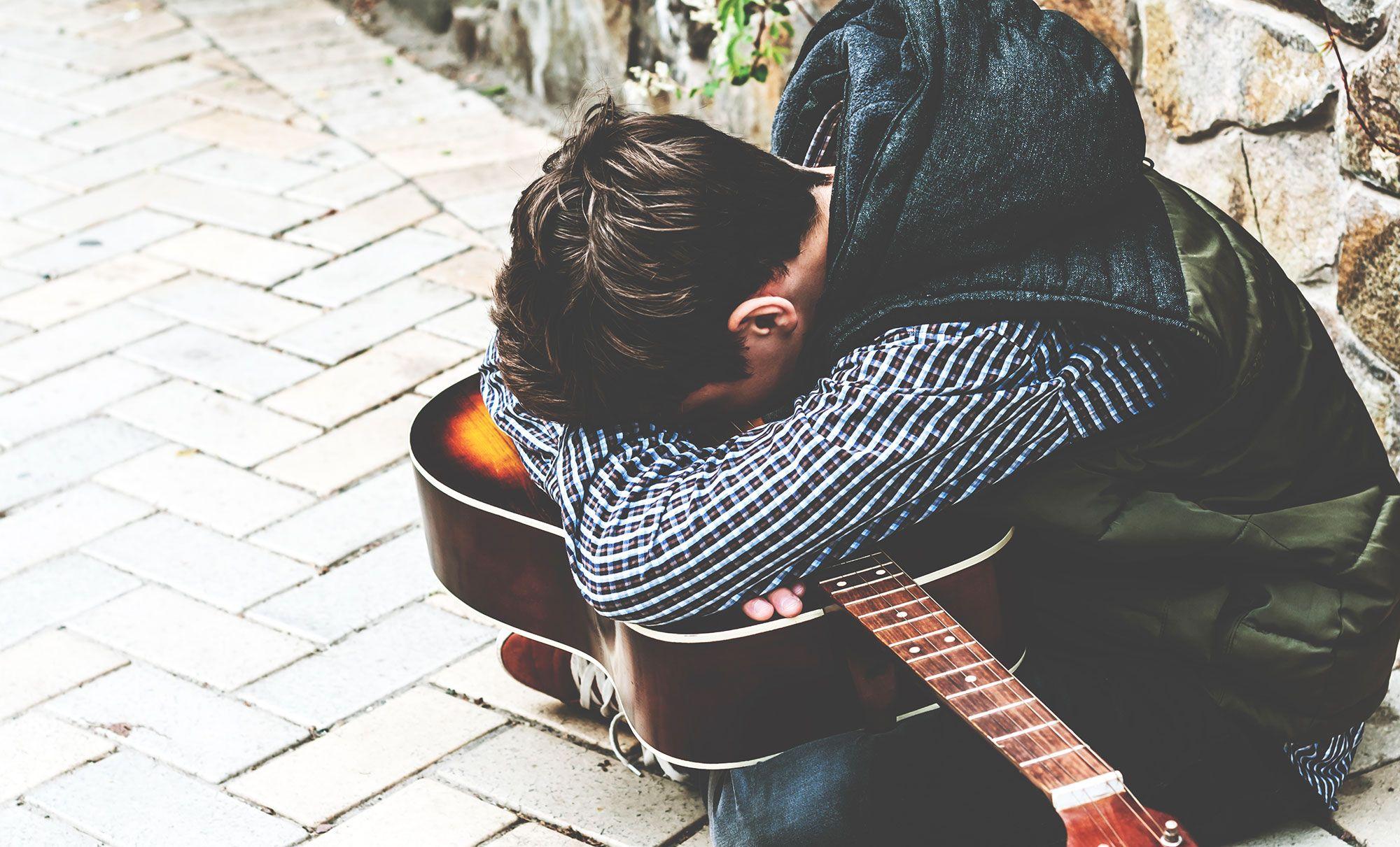 música depresión