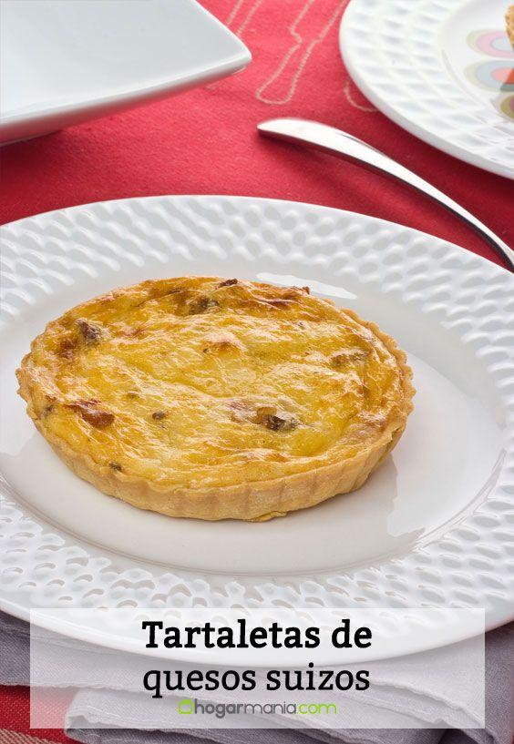 Receta de Tartaletas de quesos suizos