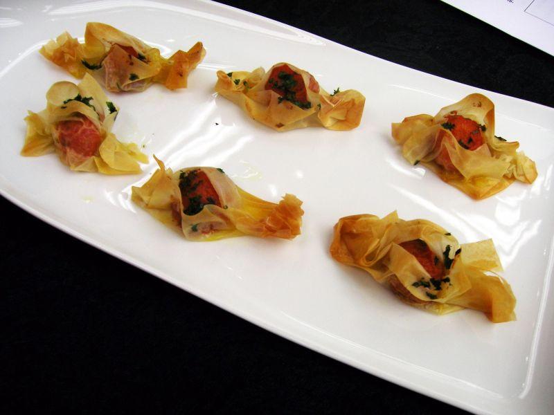 Receta de tomate asado y crujiente