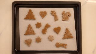 Galletas de jengibre y canela para Navidad - Paso 7