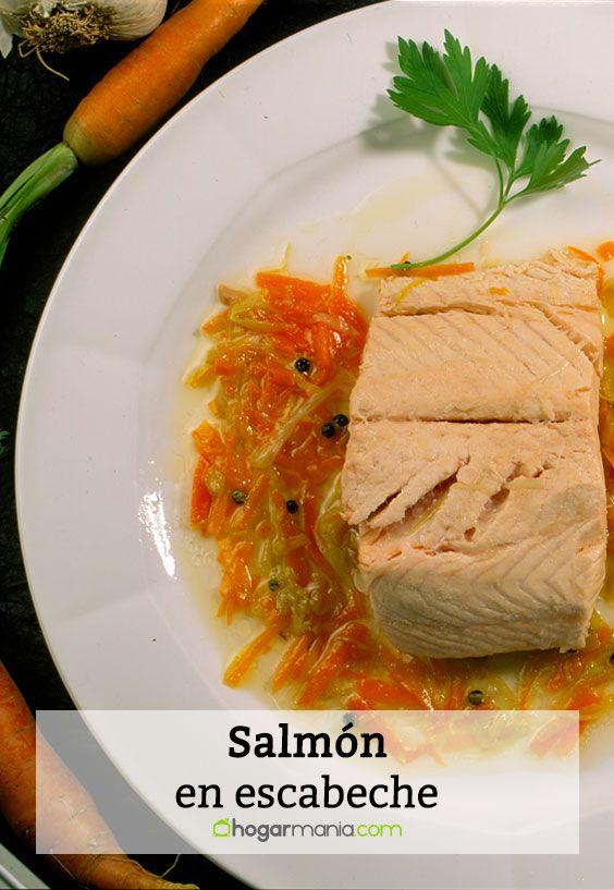 Salmón en escabeche