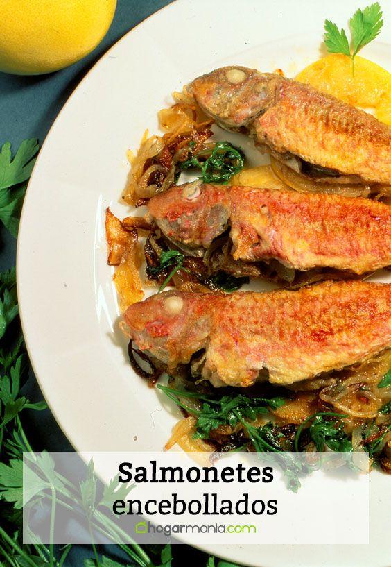 Salmonetes encebollados