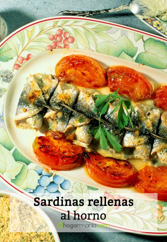 Sardinas rellenas al horno
