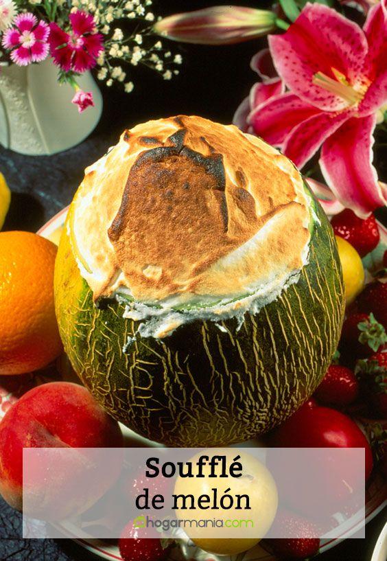 Soufflé de melón
