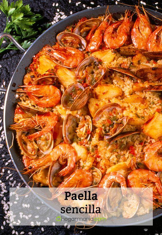 Paella sencilla