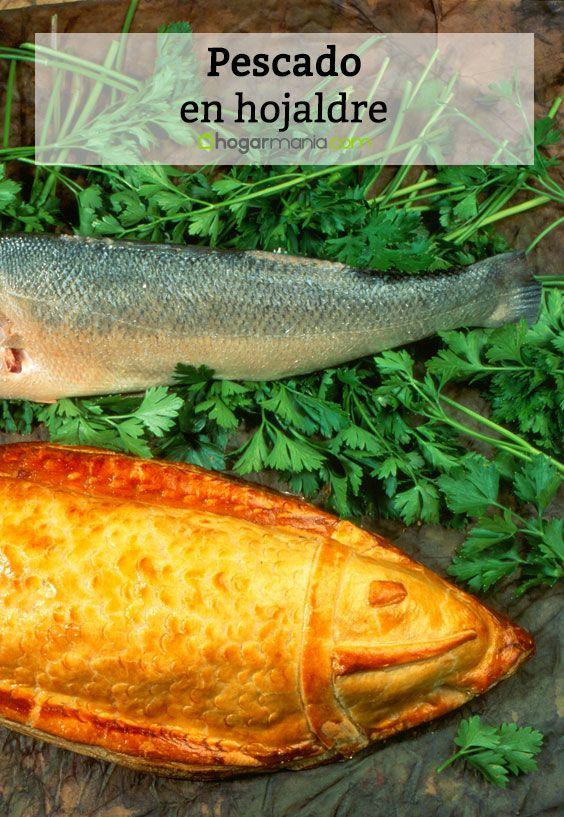 Pescado en hojaldre