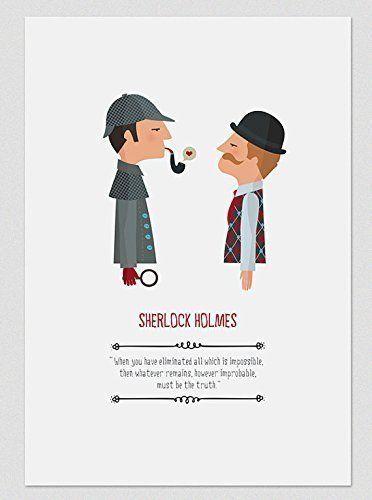 Ilustración Sherlock Holmes