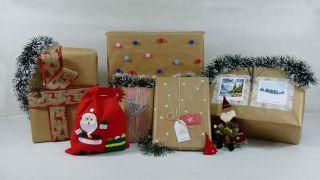 5 ideas para decorar regalos con papel kraft