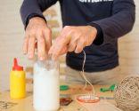 Cómo hacer bolas de Navidad con cuerdas