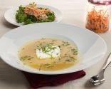 Sopa de pescado y verduras