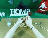 Cómo hacer estrellas de Navidad con pinzas de madera