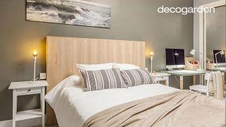 Dormitorio elegante con mini estudio nórdico - Paso 10