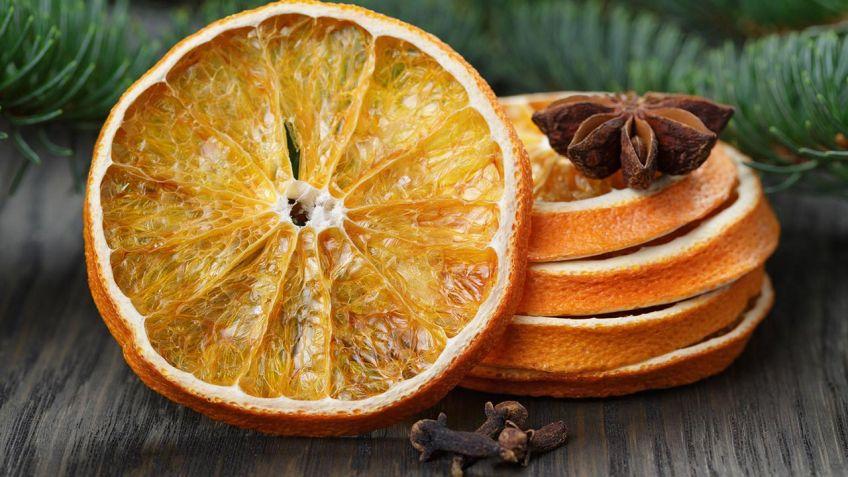 Cómo secar frutas para decorar - Hogarmania