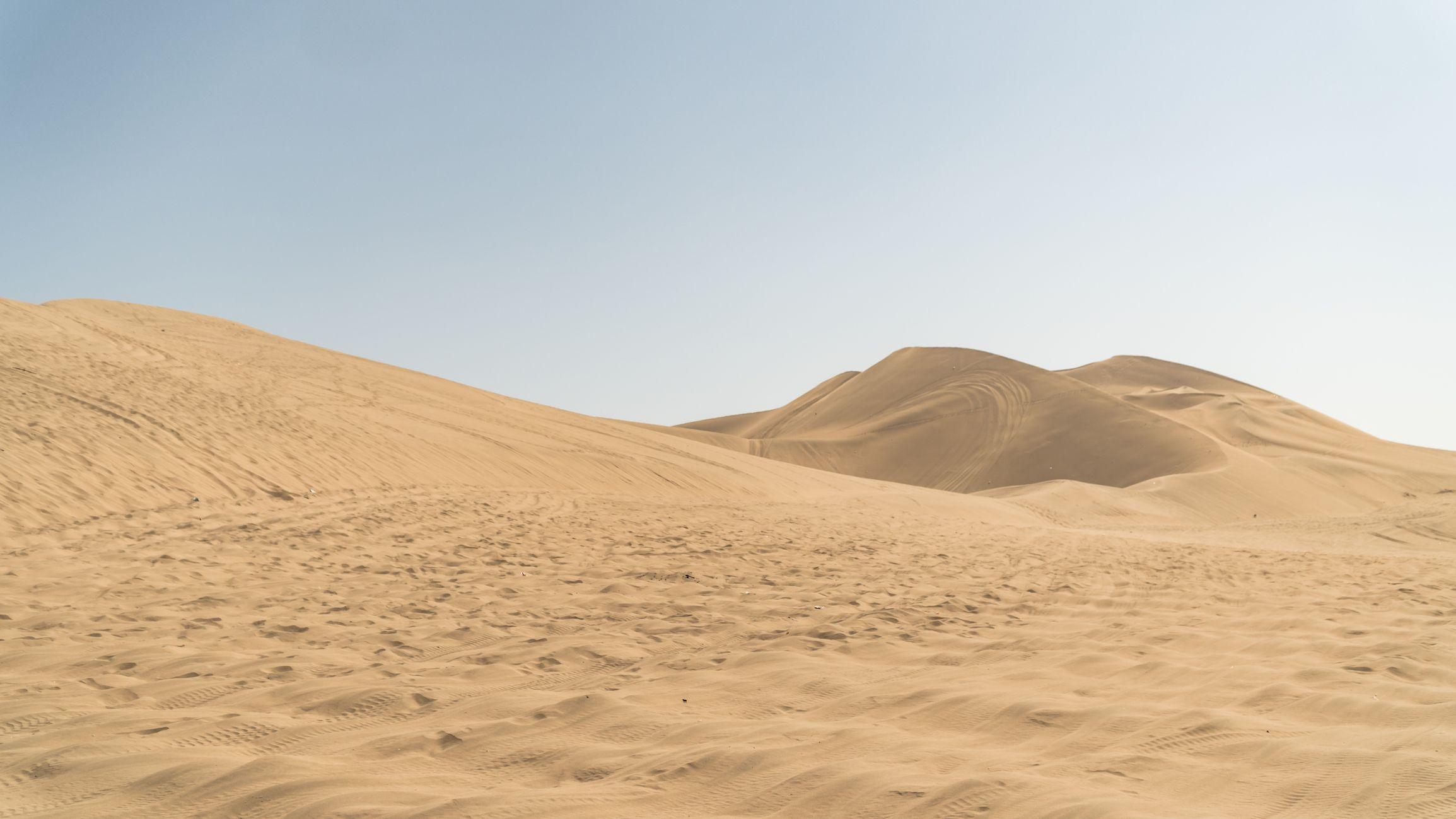 ir al desierto