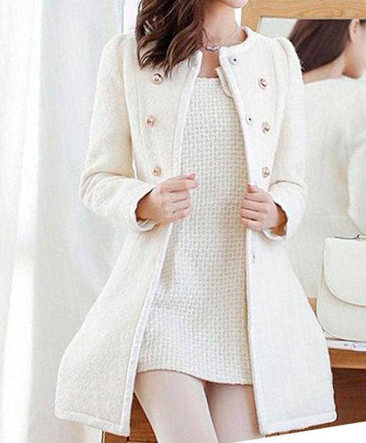 Cómo llevar la moda color blanco en invierno - Hogarmania