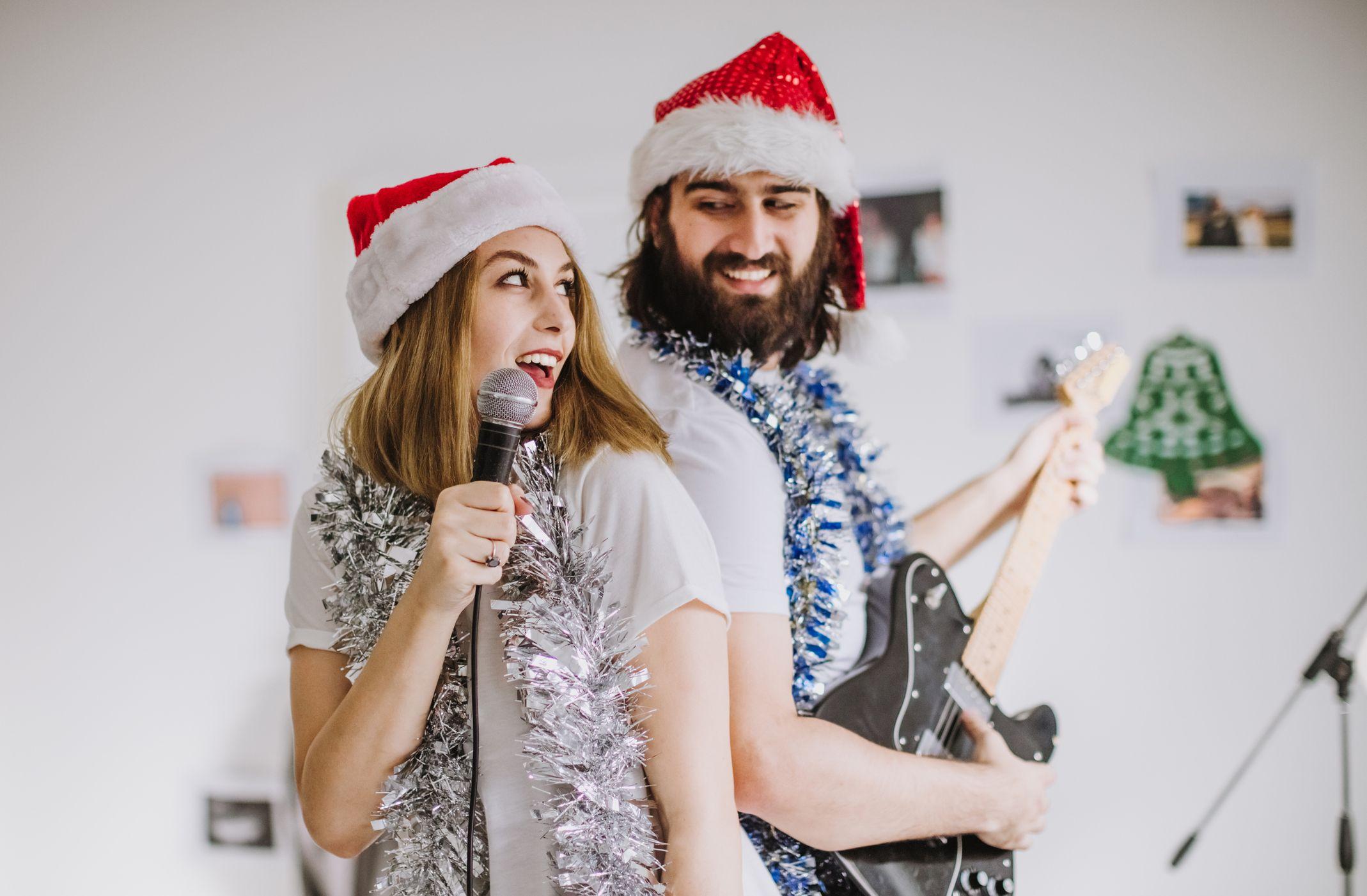 Navidad música en casa