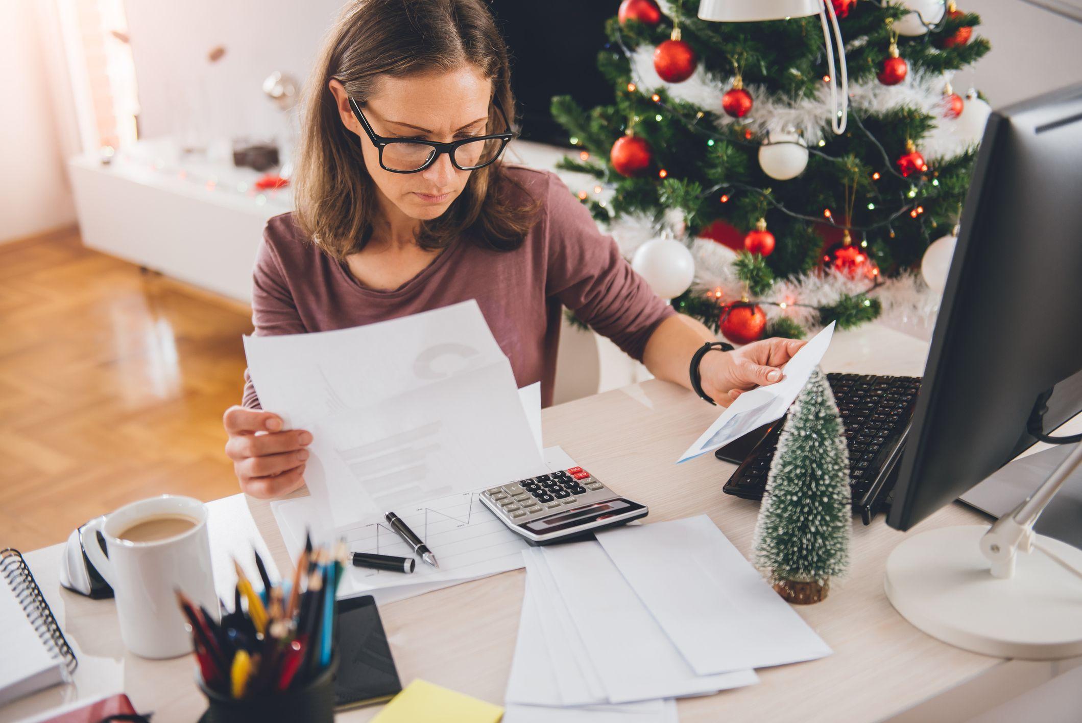presupuesto de navidad