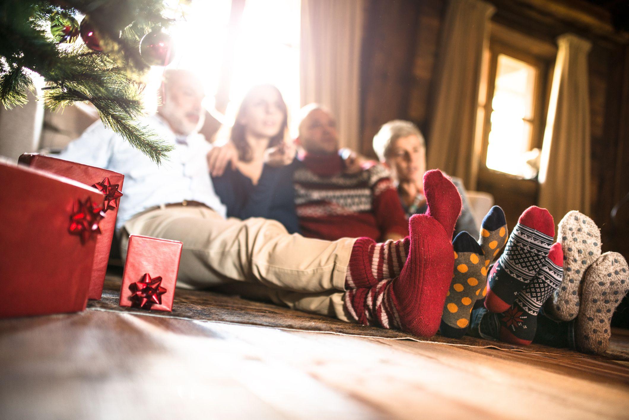 Ver la tele en navidad