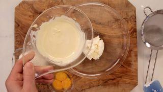 Pastel de queso japonés - Paso 2