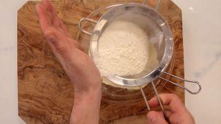 Pastel de queso japonés - Paso 4