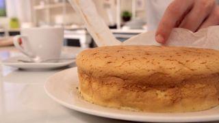 Pastel de queso japonés - Paso 7