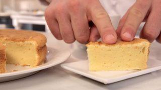 Pastel de queso japonés - Paso 8