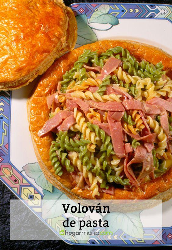 Volován de pasta