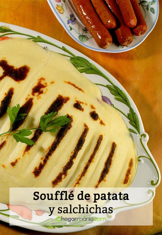 souffle de patata y salchichas