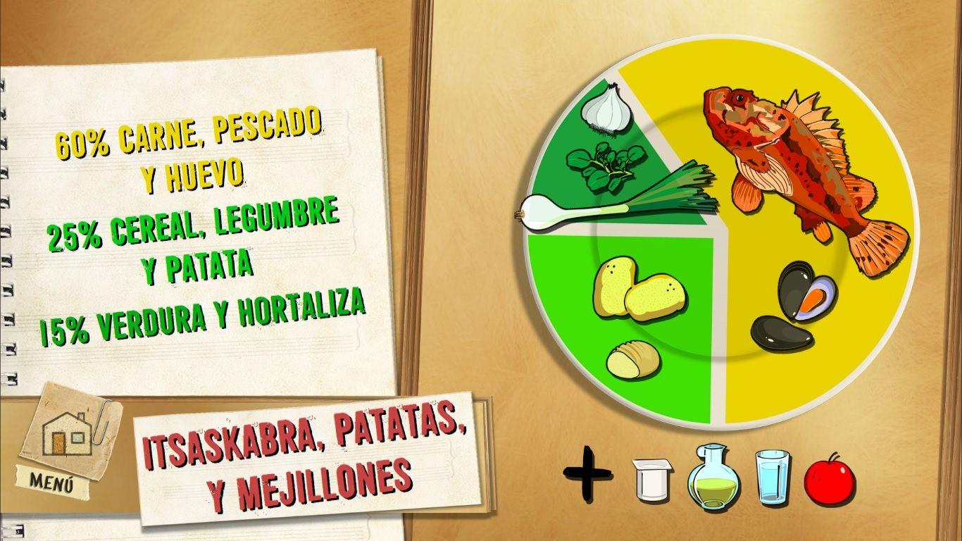Itsaskabra, patatas y mejillones