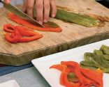 Cómo asar pimientos al horno
