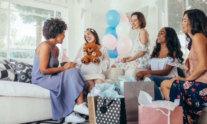 ¿Qué regalar en un baby shower?