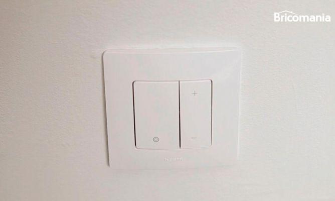 Colocar un interruptor regulador de luz bricoman a for Interruptor regulador de luz