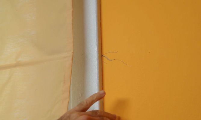 C mo reparar grietas din micas bricoman a - Reparar grietas pared ...