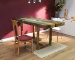 Cómo hacer una mesa de comedor con traviesas de madera