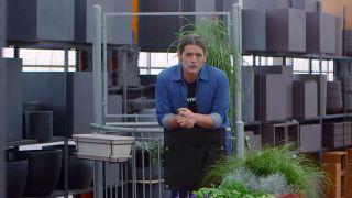 Jardineras de tela para el balcón - Inicio