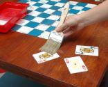 Decorar mesa para jugar a las damas