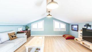 decorar sala de estar en ático
