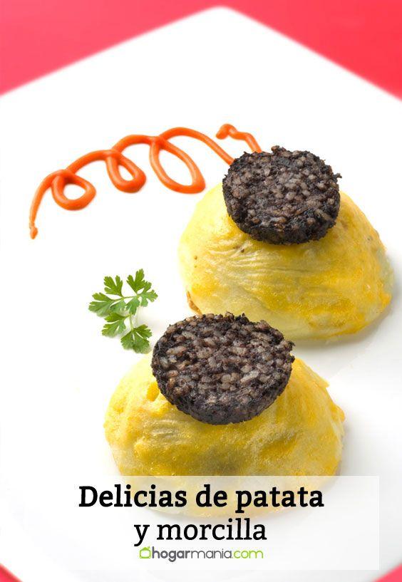 Receta de Delicias de patata y morcilla