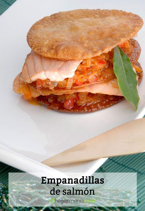 Receta de Empanadillas de salmón