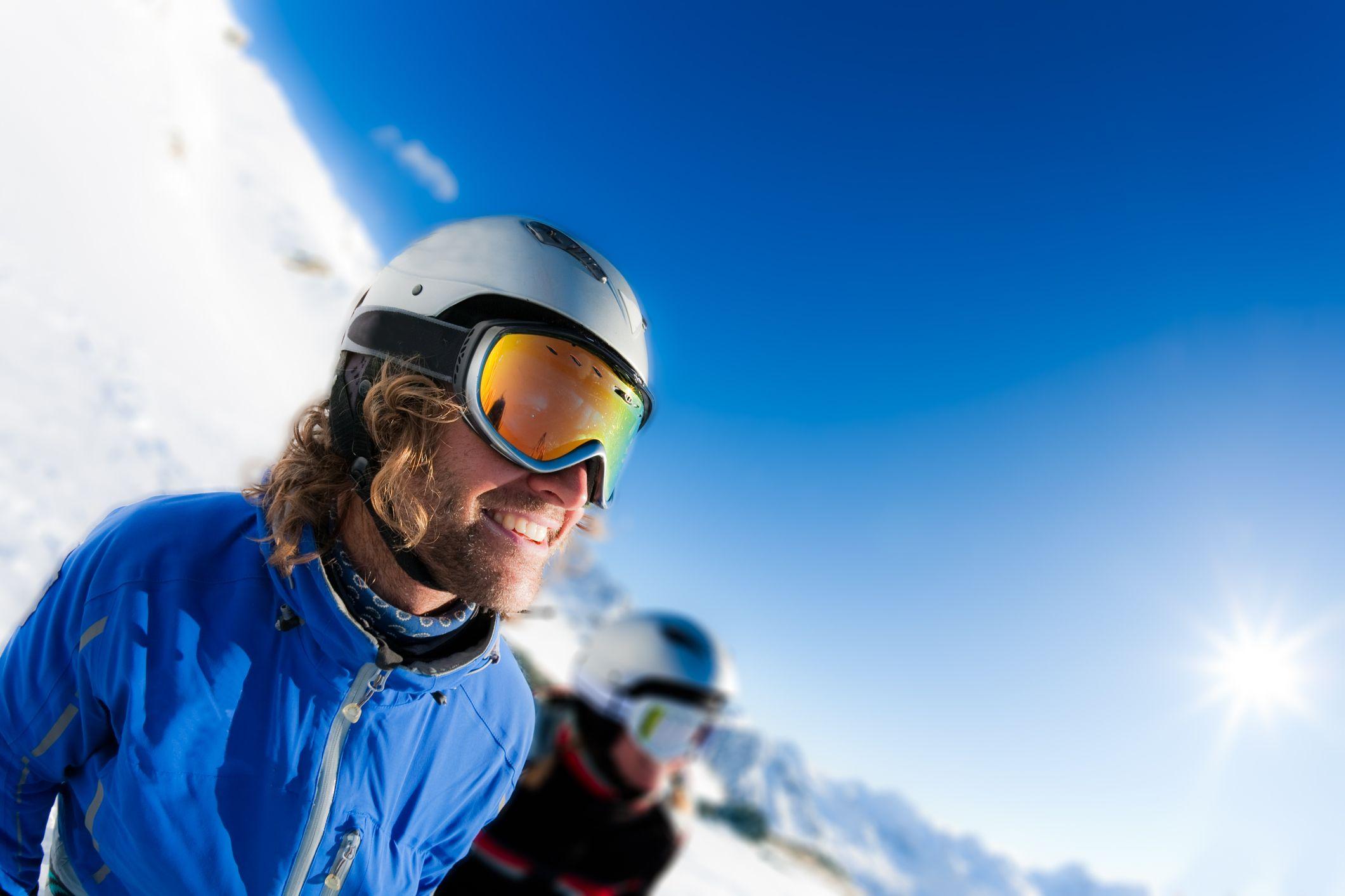 Esquiar casco