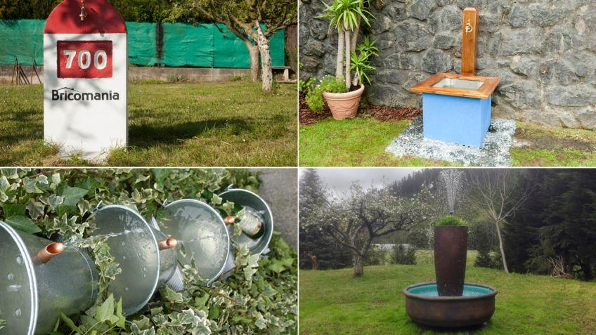 Ideas para hacer una fuente de jard n hogarmania for Como hacer una fuente de agua para jardin